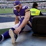 Kyle Rudolph Vikings Foot Injury