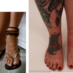 Foot Tattoo's