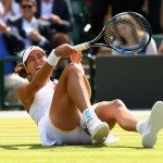 Garbine Muguruza Foot Injury