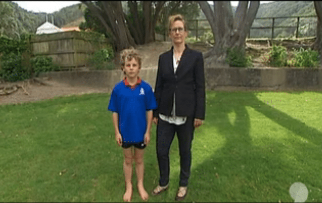 Boy Disqualified For Running Barefoot